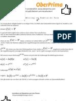 Exponentenableitung ohne e