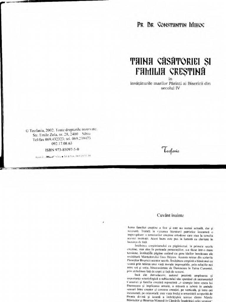 Constantinmihoctainacasatorieisifamiliacrestina Text