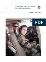 Cadet Orientation Flight Syllabus 4-09