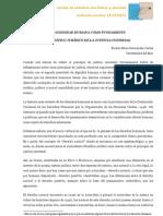 LA DIGNIDAD HUMANA COMO FUNDAMENTO FILOSÓFICO JURÍDICO DE LA JUSTICIA UNIVERSAL