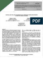 Testing Analysis and CFD Modeling of LEG Journal Bearing