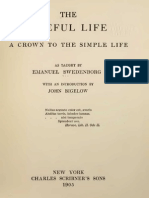 John Bigelow the USEFUL LIFE a Crown to the Simple Life as Taught by EMANUEL SWEDENBORG New York 1906