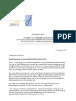 Journalistenbond AVBB vraagt dringend onderhoud over aanvullend pensioen