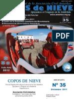 Copos de Nieve Nro 35 Diciembre 2011