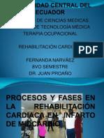 PROCESOS Y FASES EN LA REHABILITACIÓN CARDIACA EN INFARTO DE MIOCARDIO