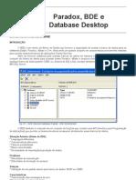 Paradox, BDE e Database Desktop