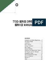 ASKO T700-Series Dryer Service Manual