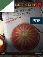 BT Field Report AFFS