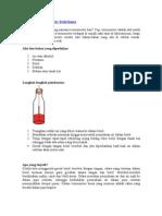 Membuat Termometer Sederhana