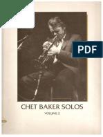 Chet Baker Solos - Vol. 2