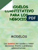 Analisis Modelos