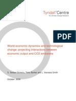 World economic dynamics and technological change