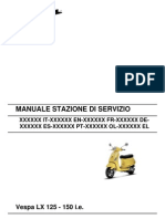 Vespa LX125ie Workshop Manual