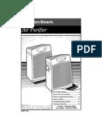 Hb Air Purifier Manual