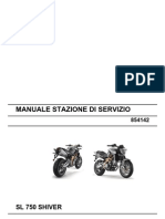 Aprilia SL 750 Shiver Workshop Manual (Italy)