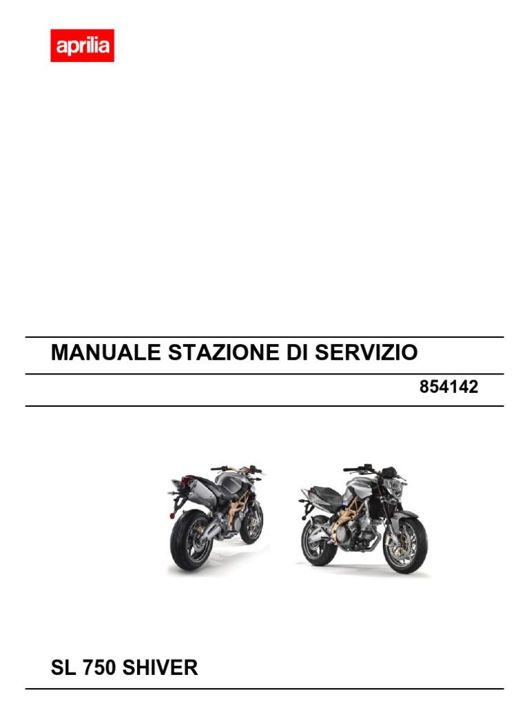 Schema Elettrico Max 250 : Aprilia sl 750 shiver workshop manual italy