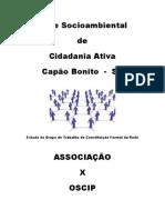 Cartilha Rede Socioambiental Associação Civil e Oscip
