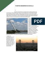 Puentes Modernos de Sevilla - PROYECTO INTEGRADO