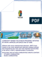 COMMUNITY - BASED TELEVISION PROGRAM SMTV – JAKARTA, INDONESIA