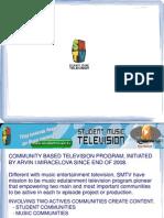 COMMUNITY - BASED TELEVISION PROGRAM SMTV – JAKARTA, INDONESIA