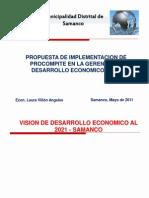 Presentación PROCOMPITE SAMANCO
