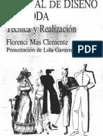 MANUAL DEL DISEÑO DE MODA - Florenci Mas Clemente