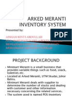 Arked Meranti Inventory System