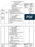 Yearly Scheme of Work English Year 3 SJK 2012