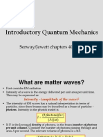 6 Introduction to Quantum Mechanics