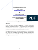 Location Based Services (LBS)