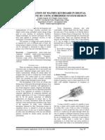 VOL2I3P3 - Implementation Of Matrix Keyboard In Digital