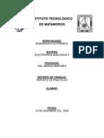 Electrónica Analógica II - Practica #6
