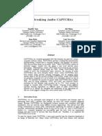 Breaking Audio CAPT