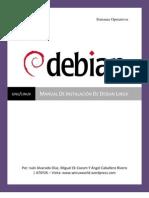 Manual De Instalación De DEbian Linux
