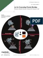 Pascal Jonkheijm, Dirk Weinrich, Hendrik Schroder, Christof M. Niemeyer and Herbert Waldmann- Chemical Strategies for Generating Protein Biochips