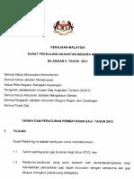 Jadual Tarikh Pembayaran Gaji Kerajaan Malaysia 2012