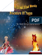 Procedure of Yagna