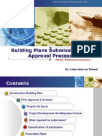 Building Plans Submission and Approval Process