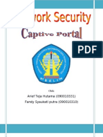 Network Security (Captive Portal) Arief-Fandy