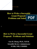 How to Write Grant
