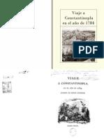 Viaje a Constant in Op La en El Ano 1784