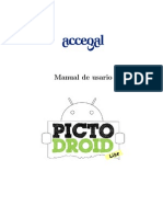 Manual Pictodroid Lite Caste Llano v2