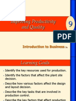 Ch9_Improving Productivity and Quality