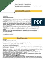 PLAB Examination Skills