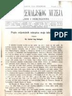 Glasnik Zemaljskog Muzeja 1916./god.28 knj.2