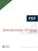 Disertaciones diversas