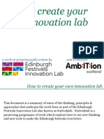 How to Create Your Own Innovation Lab