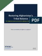Restoring Afghanistan's Tribal Balance