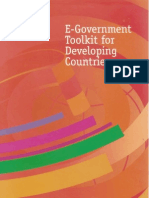 eGovernment Toolkit for Developing Countries