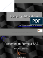 Kaz Tech Damping Calculation Seminar